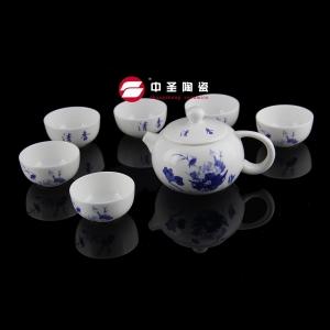 7头骨瓷清香茶具ZS00130