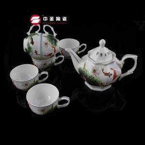 八梭茶具年年有鱼ZS095