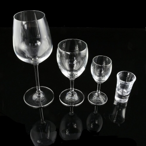 石岛高档玻璃杯无铅水晶高脚酒杯