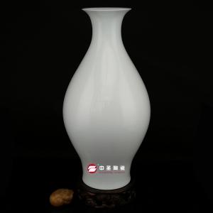 橄榄瓶——中圣青玉骨瓷瓶
