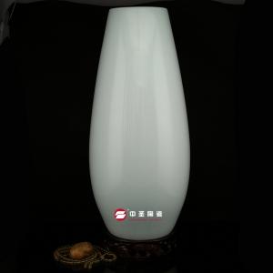 玉米瓶——中圣青玉骨瓷瓶