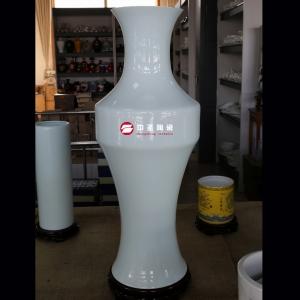 大观音瓶——中圣青玉骨瓷瓶
