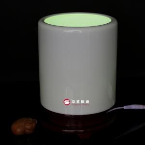 大笔筒——中圣青玉骨瓷瓶