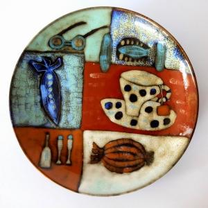 高温陶瓷花釉